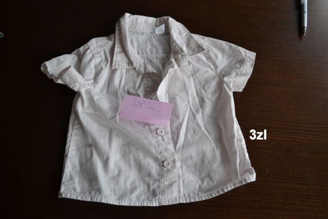 ubranka dziewczynka 1-2 lata peppa, koszla biała