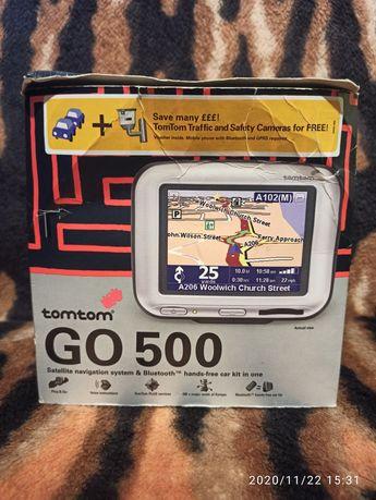 Nawigacja TomTom Go500 + akcesoria