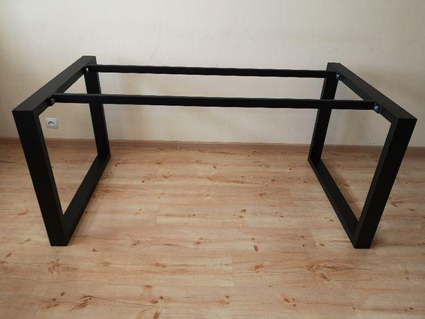 Nogi stołu LOFT NA WYMIAR -SOLIDNE stelaż pod stół dębowy wzmocnione