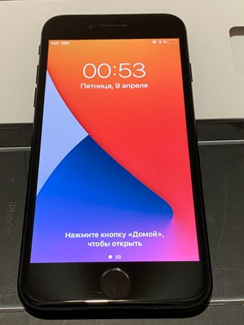 iPhone 7 128 gb Jet Black неверлок
