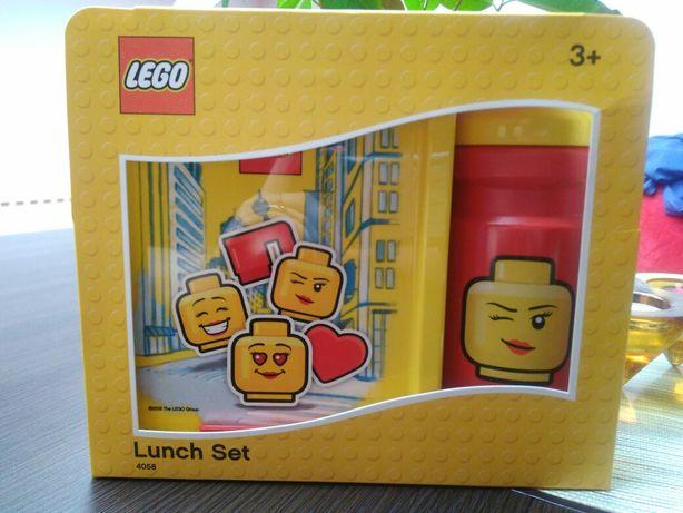 Okazja! Nowy lunch box+bidon Lego! Pojemnik na śniadanie, śniadaniówka