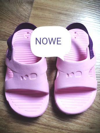 Nowe nieużywane sandały na basen decathlon 23/24