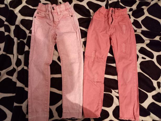 Spodnie dla bliźniaczek 110
