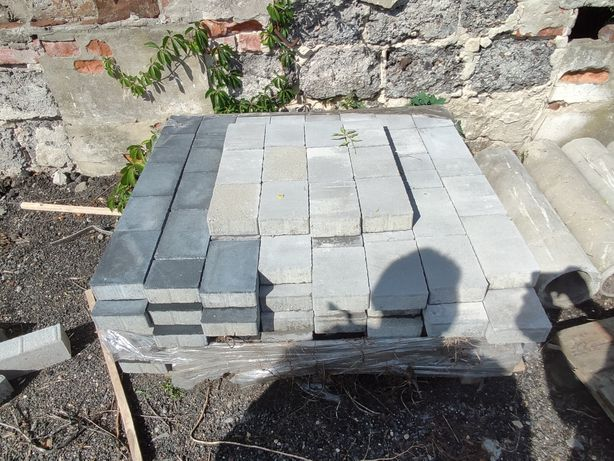 Kostka betonowa gr 6 cm, ozdobna, melanż