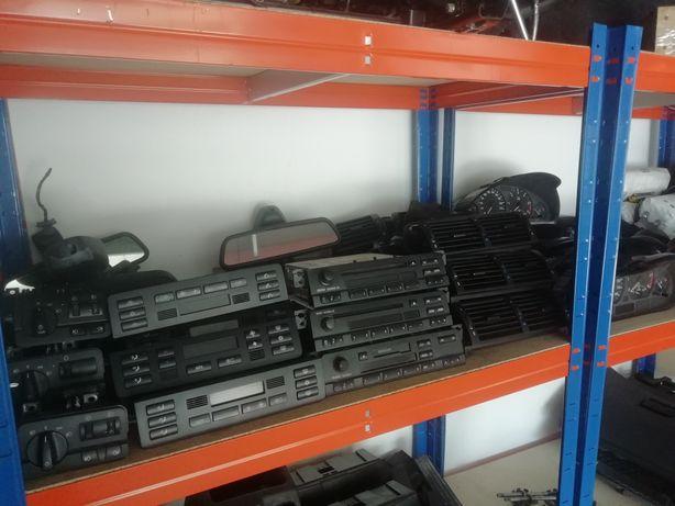 Rádios,módulos de luzes, grelhas, espelhos retrovisores, airbags, bmw