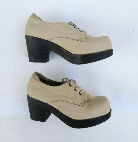 Стильные женские ботинки. Весна/осень. Производство Юж.Корея