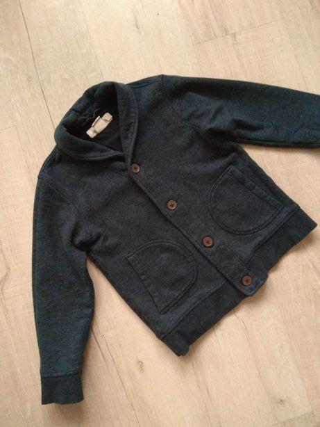 Zara H&M hm кофта пиджак трикотажный кардиган 6-7-8 лет 122 128 см