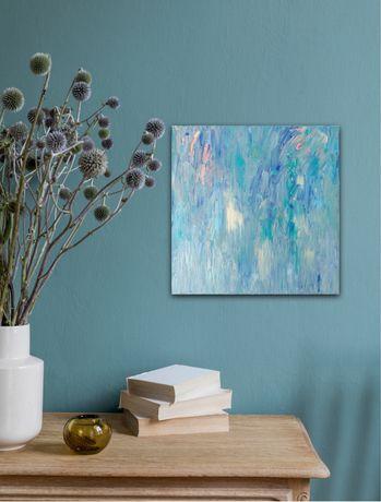 Картина Абстракция, холст, акрил, 40 х 40 см, интерьер, декор