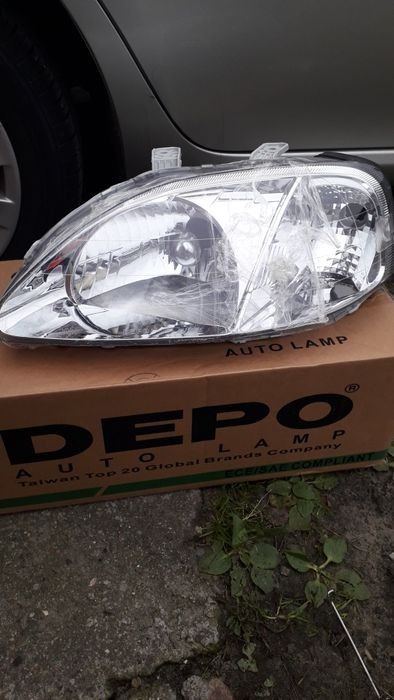 Honda Civic VI gen lampa lewa .Nowa .Eu Kościan - image 1