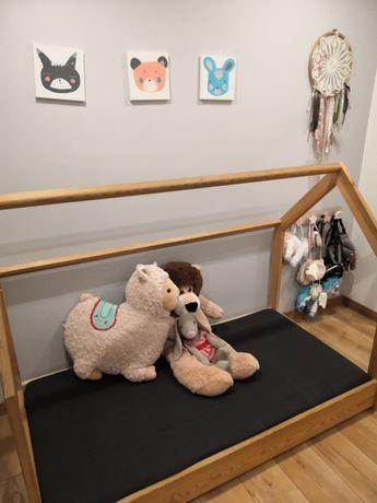 Łóżko domek skandynawski dla dziecka
