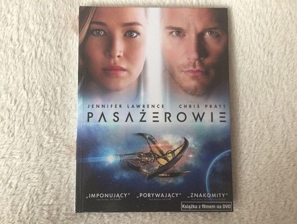 Pasażerowie film DVD z ksiązką