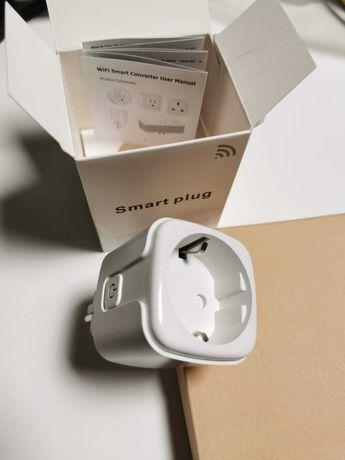 Smart Plug / Tomada Inteligente 16A - Monitorização Consumo