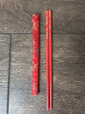 Палочки для еды суши Китай Япония Корея Вьетнам Азия красные