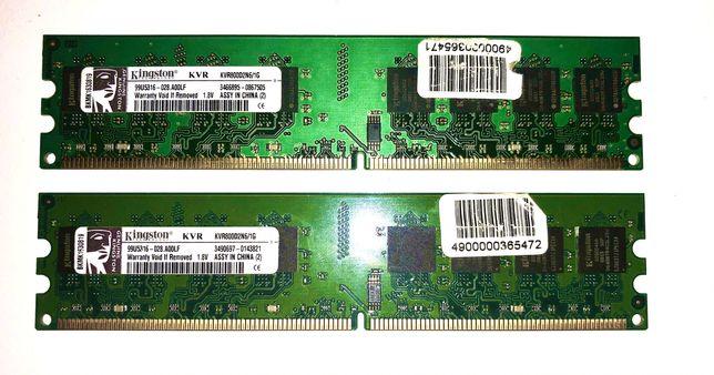 Пам'ять Kingston 1х1GB DDR2 800 MHz (KVR800D2N6/1G)