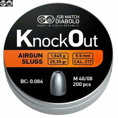 Chumbos Slug JSB KnockOut 5,5 .217