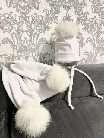 Набір шапочка та шарфік