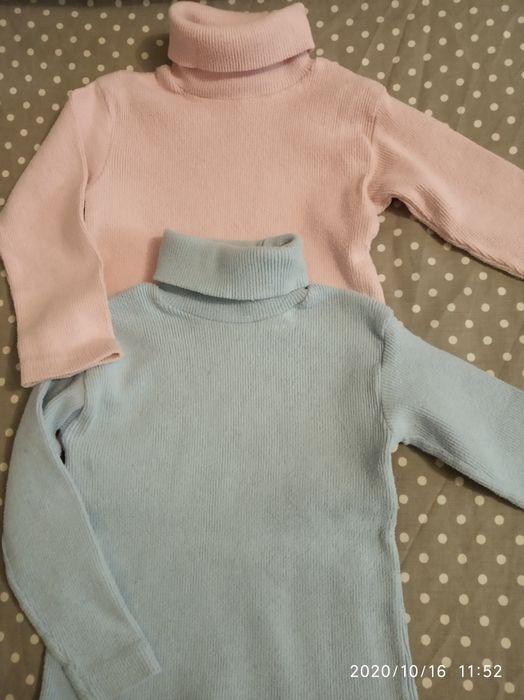 Гольфики, водолазки, свитер 1-2 года для девочки Валки - изображение 1