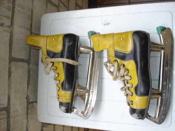 Botas (мастерские) чешские хоккейные коньки, времен СССР