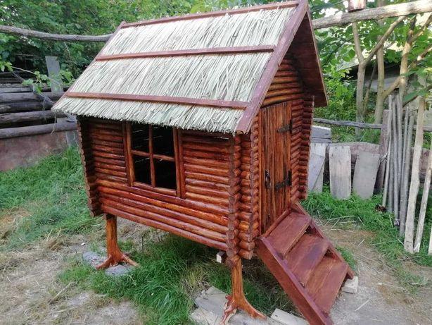 Распродажа! Детский домик деревянный игровой