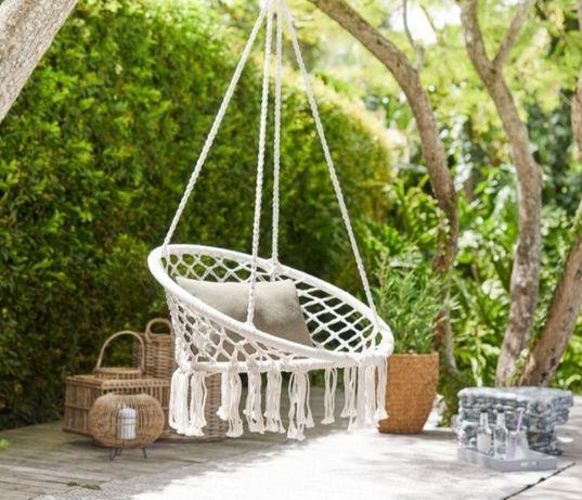 Huśtawki duża xxl krzesło brazylijskie fotel wiszący hamak boho
