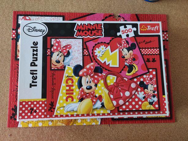 Puzzle 500 Trefl Myszka Minnie Disney