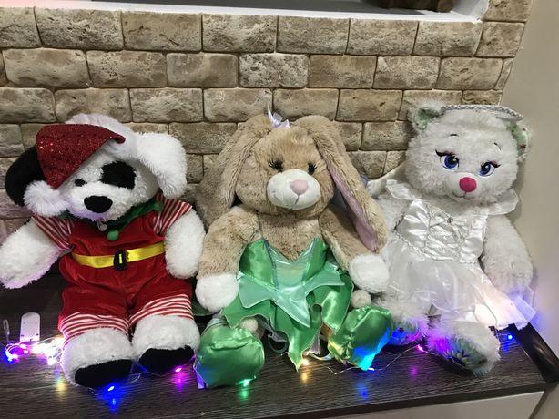 Bvild-a-Bear Worпk Shop зайка , киця , песик і одяг