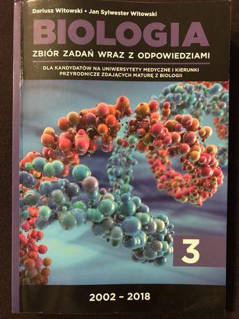 Biologia zbiór zadań wraz z odpowiedziami (tom 3)