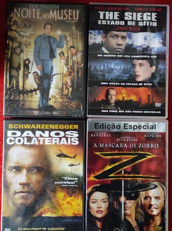 DVDs diversos títulos