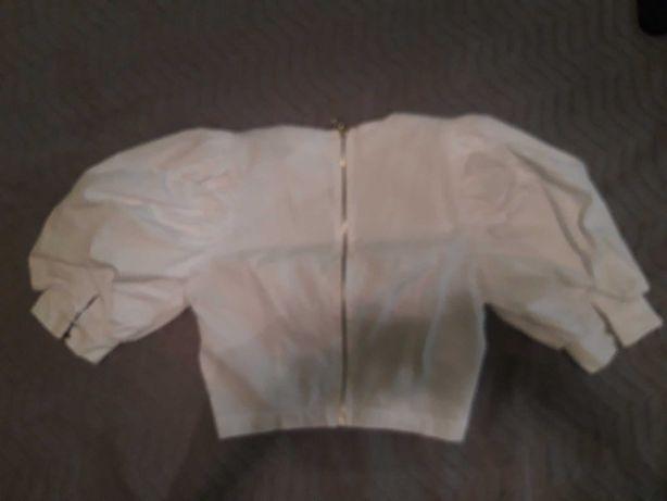 Bluzka bufki rozm 34