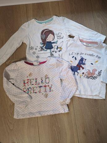 bluzeczki,86 dla dziewczynki
