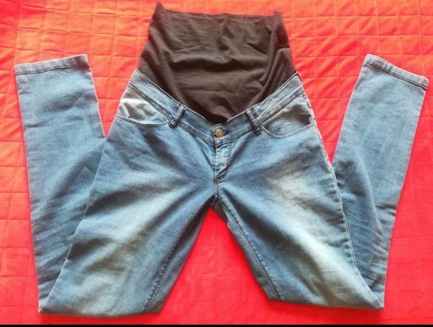 Spodnie ciążowe dżinsy r 38