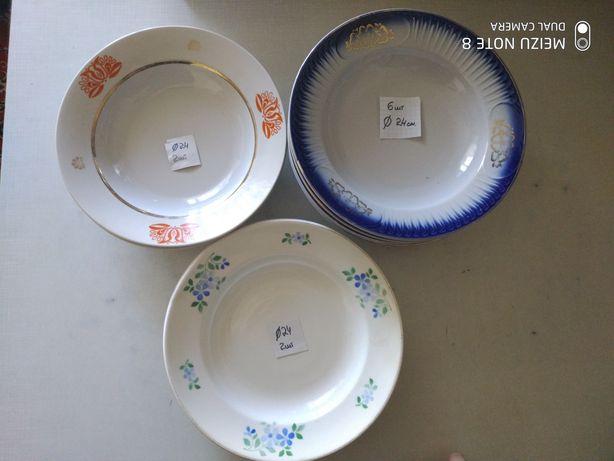 Тарелки Тарілки Салатницы Салатниці