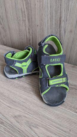 Дитячі шкіряні сандалики (сандалі, босоніжки) Lassie на хлопчика 30р