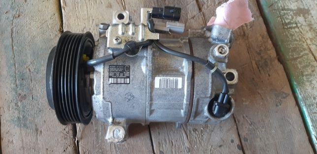 Компресор кондиціонера (трубка), проводка Nissan qashqai j11