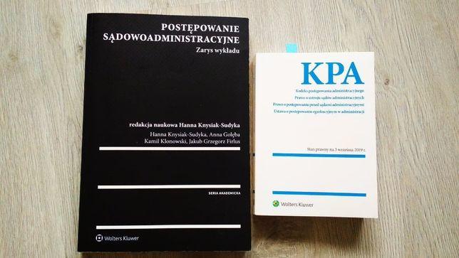 Postępowanie sądowoadministracyjne H. Knysiak-Sudyka + kodeksy
