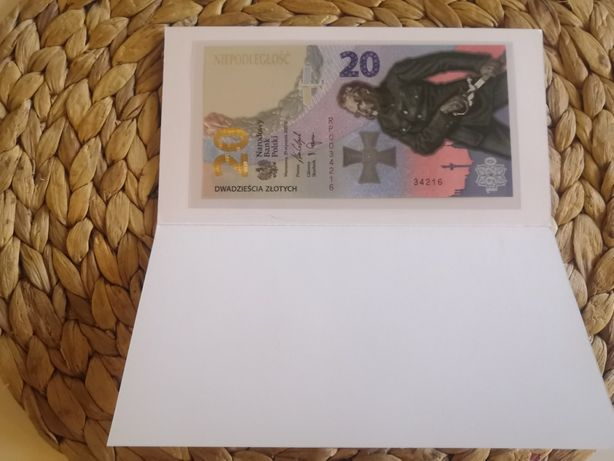 20 zł 2020 Bitwa Warszawska 1920 banknot