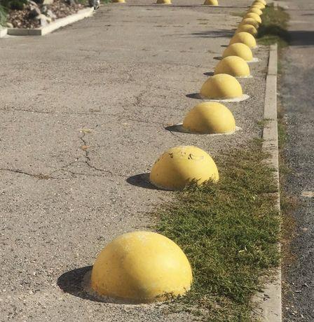 Полусфера бетонная (парковочный ограничитель)