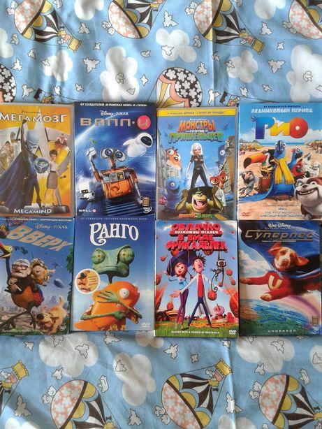 Коллекция DVD мультфильмы