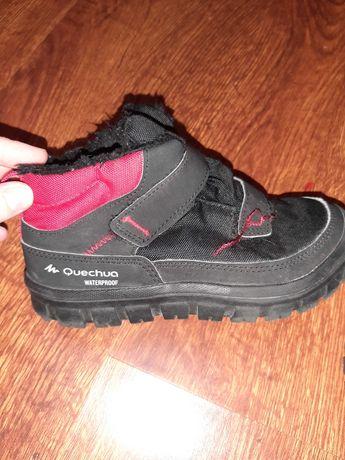 Ботинки Quеchua на мальчика р 32стелька20см  новые осень-зима
