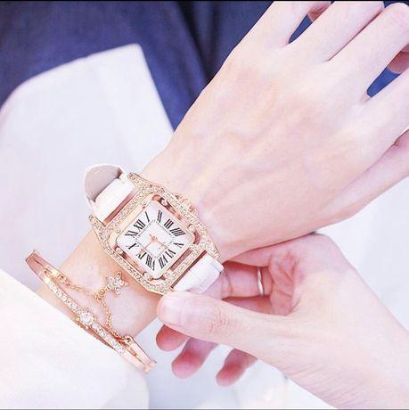 Продам прекрасные кожаные часы для женщин