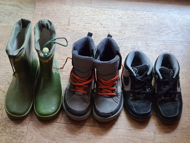 Buty chłopięce jesień/zima Decathlon