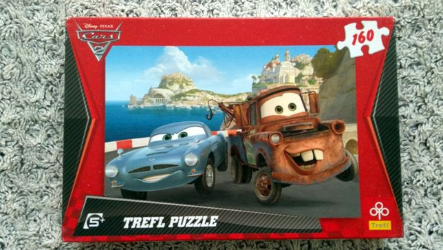 Puzzle Trefl z serii Cars, 160 el., 5+