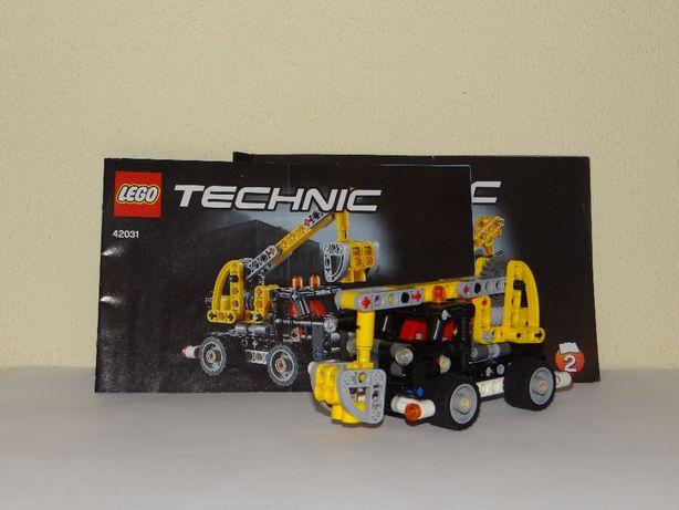 LEGO TECHNIC - klocki 42031 Ciężarówka z wysięgnikiem 2w1