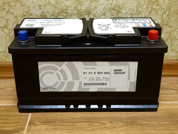 Гелевый аккумулятор Varta 90Ah 900A BMW AGM Start-Stop Mercedes Origin