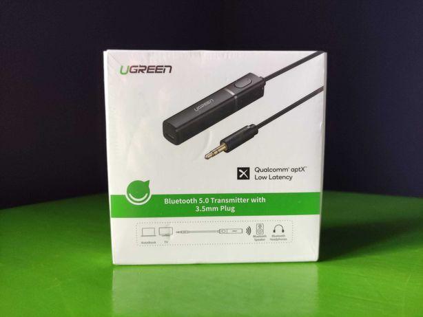 Ugreen Bluetooth 5.0 aptX LL трансмиттер передатчик Hi-Fi AUX ПК, PS4