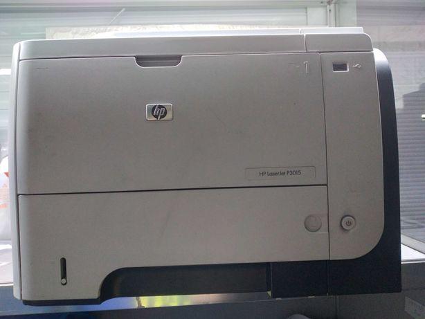 HP LaserJet P3015 идеально печатает