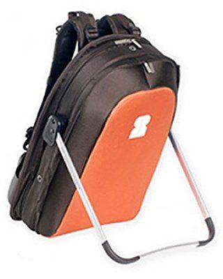 Mochila cadeira transportar bebé Join Us laranja DUTCH THE POINT