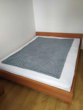 Łóżko sypialniane + 2 szafki
