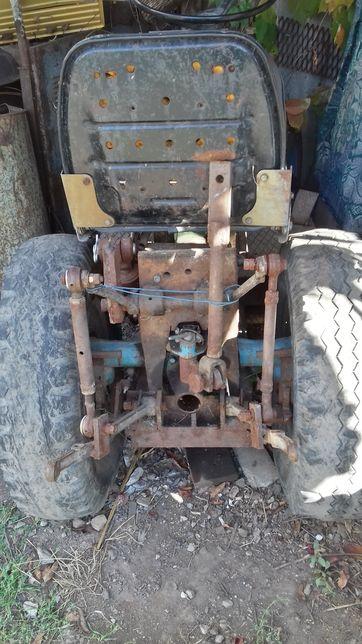 Продаю самодельный трактор на базе мотоблока МТЗ-05