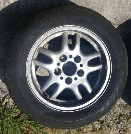 Jantes BMW 15 5x120 com pneus